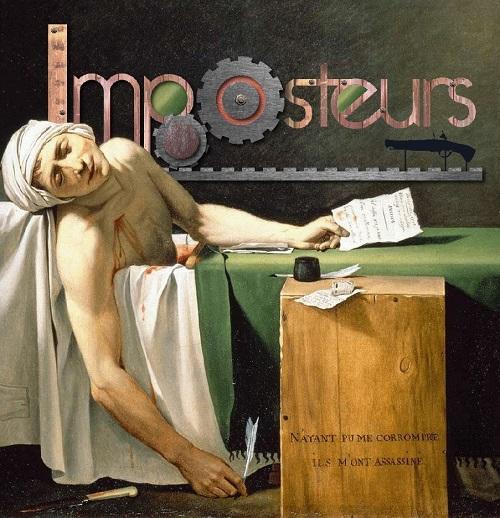 """""""Imposteurs"""" ou comment les éditions passent à la production audiovisuelle, via  Kervarec'h (auteur, entre autres, du thriller médiéval """"Le Chevalier oublié"""")."""